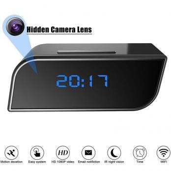 Часы с WI-FI видеокамерой