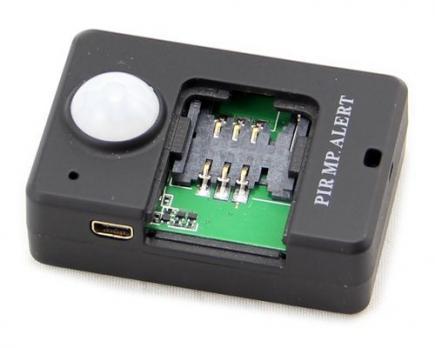 Жучок GSM с датчиком движения