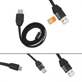 Жучок в кабеле