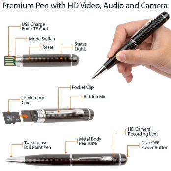 Ручка с камерой HD