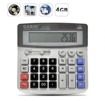 Калькулятор с встроенной видеокамерой